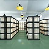 OCYE Display Rack, Steel Bathroom Shelf, Adjustable Shelving Unit, Shelf Utility Shelving Wire Shelf Kit Storage Metal Shelf, 250kg capacity per layer, black