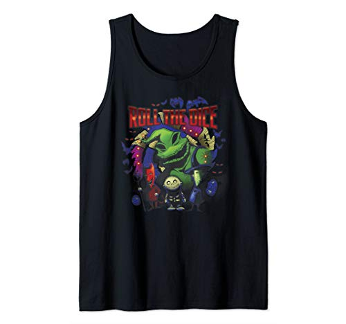 Disney The Nightmare Before Christmas Oogie Roll The Dice Tank Top