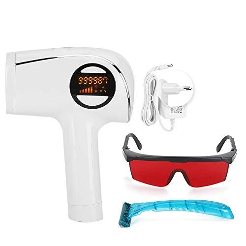 Elektrische ontharingsmachine, professionele ijsgevoelige epilatorset met brilscheerapparaat, huidverbeteraar voor armen, bikinilijn, benen, oksels(EU)