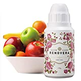 Organic Fruit and Vegetable Cleaner   Renovera(Rosa.L), Calcium-Based Powder, Veggie Wash, 5.3 Ounce