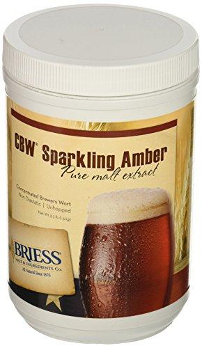 Briess Sparkling Amber Malt Extract, 3.3lb