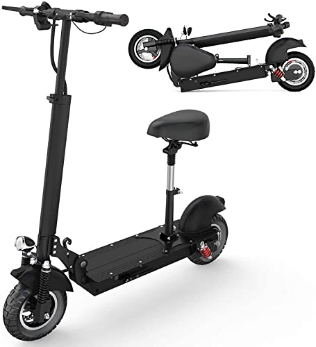 Electric Scooter, Foldable Electric Scooter Adults with Removable Seat, 500W/1000W...