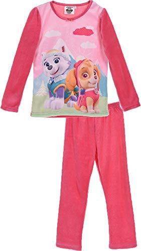 Pijama para niña Rosa da La Patrulla Canina
