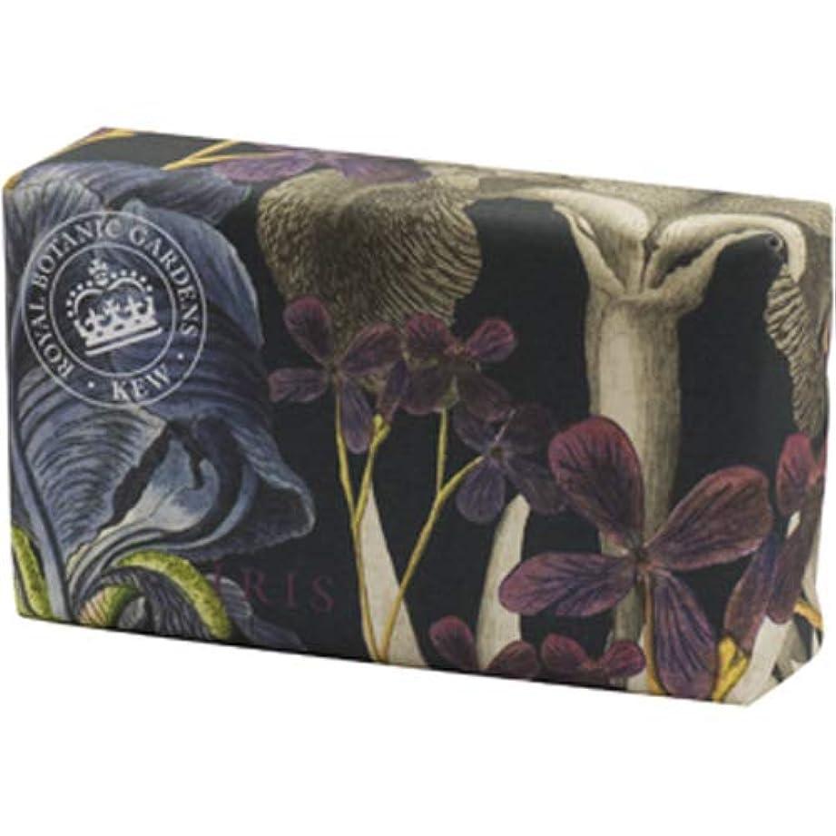 若い伝染性交じるEnglish Soap Company イングリッシュソープカンパニー KEW GARDEN キュー?ガーデン Luxury Shea Soaps シアソープ Iris アイリス