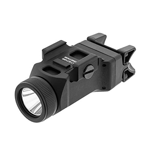 UTG Sub-Compact Pistol Light, 200 Lumen, Picatinny Mount, Black (LT-ELP120R)