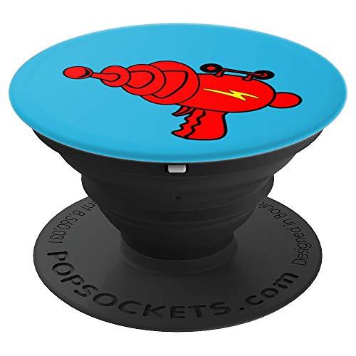 Raygun Pew! Retro Vintage Sci-Fi Science Fiction Retrofuture PopSockets Agarre y Soporte para Teléfonos y Tabletas