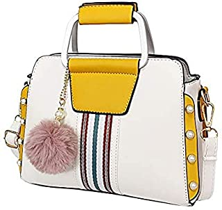 Chic Women's Handbag – Fashion Purse for Women with Shoulder Strap - Off White