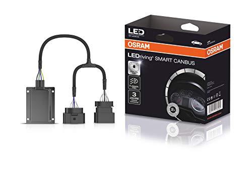 Osram LEDriving SMART CANBUS, LEDSC02, umgeht das Lampenausfallerkennungssystem Retrofit Lampen wie Night Breaker H7-LED