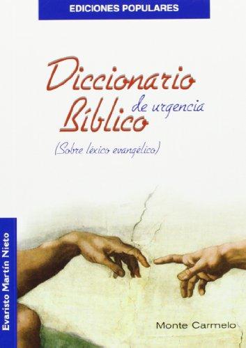 Diccionario Bíblico de Urgencia: Sobre léxico evangélico (Ediciones Populares)