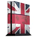 DeinDesign Skin kompatibel mit Sony Playstation 4 PS4 Folie Sticker England Flagge London