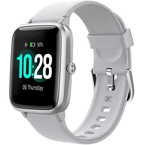 Relojes de pulsera Reloj Inteligente, Reloj Inteligente con Pantalla Táctil de 1,3 ', Cronómetro Impermeable Del Podómetro Del Reloj Del Perseguidor de La Aptitud IP68, Relojes Deportivos para Hombres