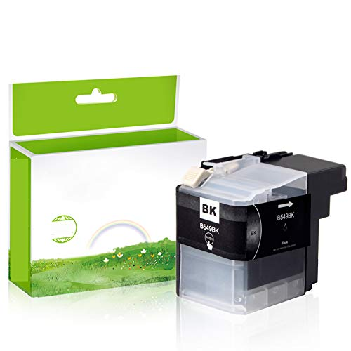 GYBN Impresora con Cartucho de Chip Negro de Gran Capacidad para Hermano LC549 Cartucho de Tinta LC545 dcp-j100 Cartucho de Tinta DCP-J105 MFC-J200 Cartucho de Tinta-Yellow