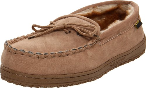 Old Friend Men's Washington Slipper, Chestnut 11