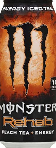 Monster Energy Rehab Peach - 1 can 458 ml