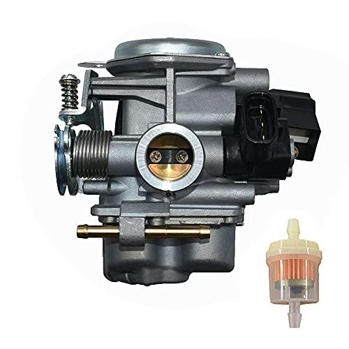 Repuesto de ensamblaje de carburador para Honda Ruckus 50 NPS50 NPS50S AC 2008-2019 reemplazar 16100-GGA-672 con filtro de combustible