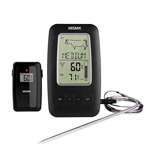 5. MSMK MK2245 Digitales Funk Grillthermometer