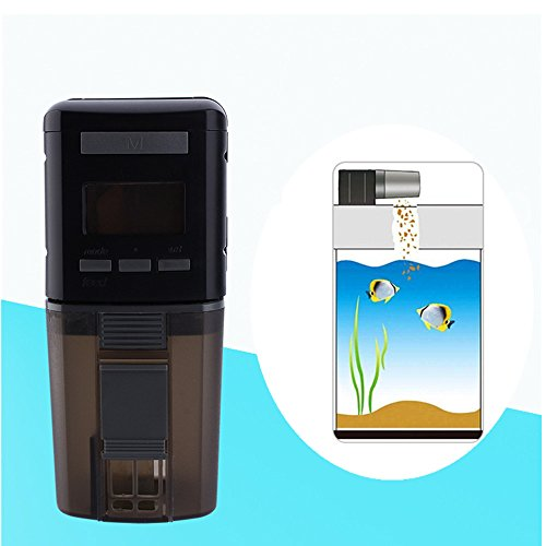 Dispensador de nurriture automática para peces, alimentateur de peces automático Digital LED temporizador para acuario