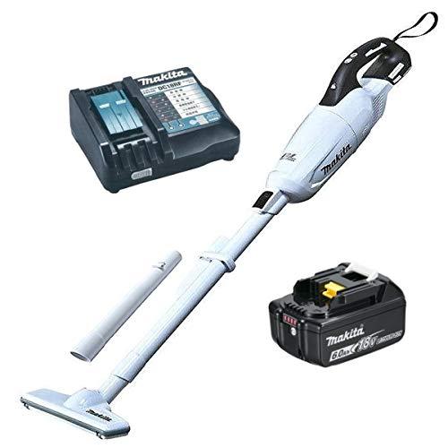 マキタ6.0Ah充電式クリーナー コードレス掃除機18V CL281FDZW本体+リチウムイオンバッテリー6.0Ah BL1860B+マキタ純正充電器+ショートパイプ CL281FDRFWタイプの当店企画セット