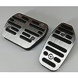 no brand Pédale d'accélérateur de gaz Automatique,Accessoires de Style de Voiture de pédale de Frein, pour Renault Duster, captur, kadjar,