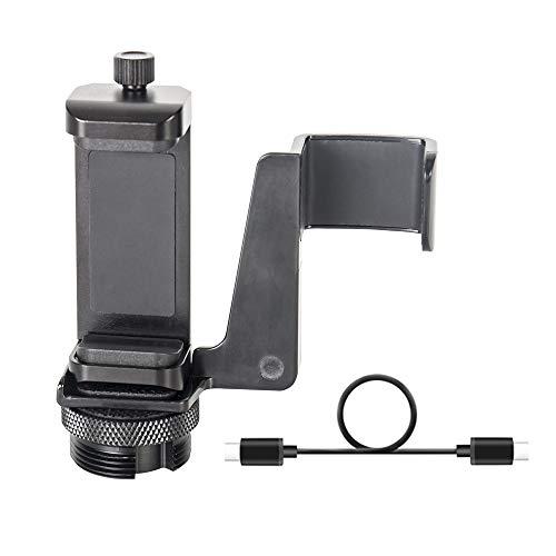 Smatree Supporto per Telefono Cellulare per DJI OSMO Pocket 2 / DJI OSMO Pocket e Smartphone (Viene Regolato Solo lo Stick Ricaricabile per Selfie per Osmo Pocket)
