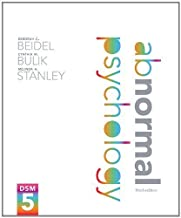 Abnormal Psychology (3rd Edition) by Beidel, Deborah C. Published by Pearson 3rd (third) edition (2013) Hardcover