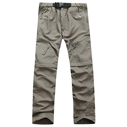 N/ A Mens Cargo Pants Outdoors Fishing Hiking Camping Army Pant Mens Waterproof