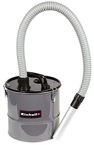 Original Einhell Aschefilter 12 L (12 Liter Behältervolumen, Saugeranschluss, Aluminium-Saugrohr, 100 cm Saugschlauch, Tragegriff, mit einem Nass-Trockensauger verwendbar)