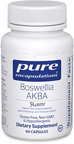 Pure Encapsulations - Boswellia AKBA - Hypoallergenic Support for Immune, Joint, Gastrointestinal and Cell Health - 60 Capsules