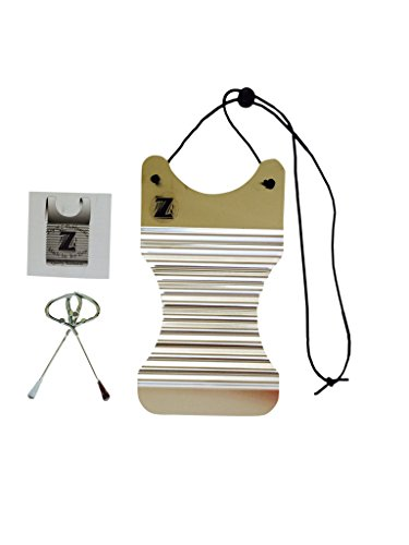Washboard Zydeco Frottoir ScrubBoard Percussion Instrument Free Scratchers Miniature 6-4 inches wide by 11 inches longHand Made Louisiana Tee Don Board Key of Z Rubboards