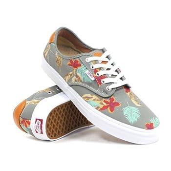Vans Unisex Chima Ferguson Pro Aloha Skate Shoes-Aloha/Light Grey-7