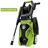 Best Choice Products 2030PSI 1.4 GPM Electric Power Pressure Washer w/Adjustable Nozzle, Soap Bottle, 19ft Hose