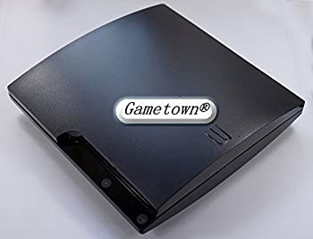Gametown® Black Full Housing Shell Case Cover For PlayStation 3 PS3 Slim CECH-2000 CECH-20XX