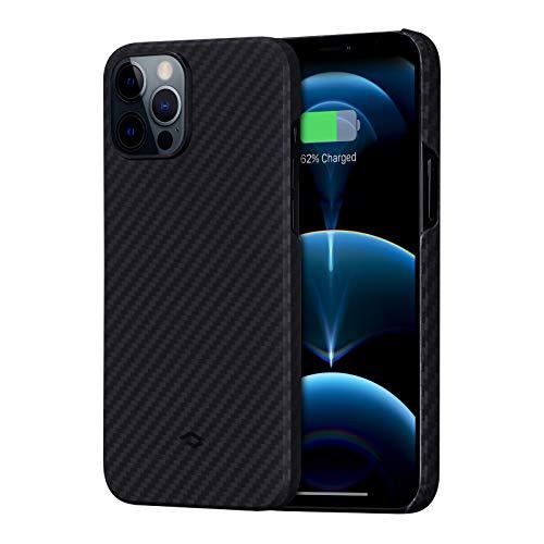 pitaka MagEZ Hülle, ultradünn, magnetische Hülle für iPhone 12 Pro Max(6,7