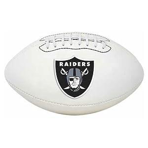 NFL Signature Series Full Regulation-Size Football, Las Vegas Raiders by Jarden Sports Licensing