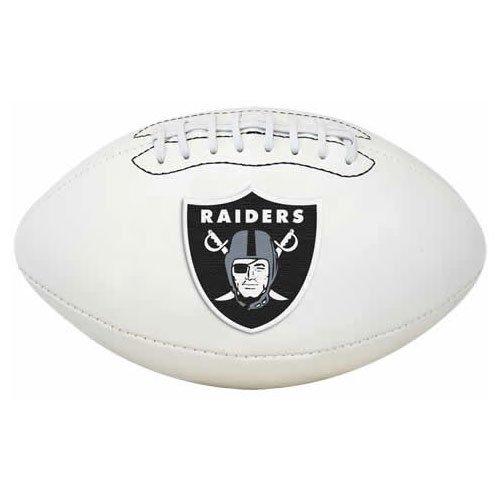 NFL Signature Series Full Regulation-Size Football, Oakland Raiders