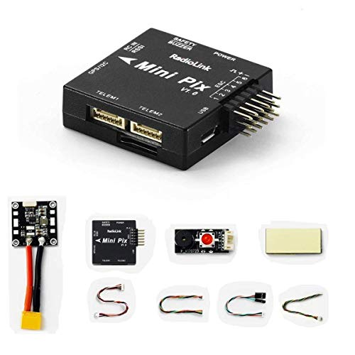 Radiolink Mini PIX Flight Controller with Vibration Damping by Software and OSD Port Same as F4 FC for Mini Racing Drone/Helicopter/Fixed Wing (MINIPIX)