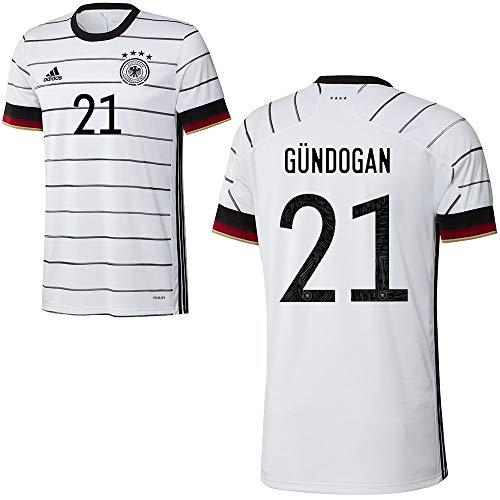 adidas Fußball DFB Deutschland Home Trikot Heimtrikot EM 2020 Herren Gündogan 21 Gr L
