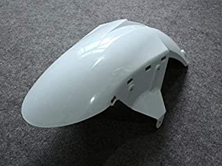 MMKUTZ - Unpainted Bodywork Front Fender Fairing For Kawasaki NINJA 636 ZX- 6R ZX6R ZX 6R 2005 2006 05 06 Motorcycle ABS Plastic