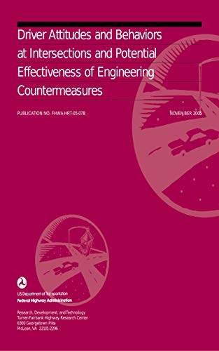 Driver Attitudes and Behaviors at Intersections and Potential Effectiveness of Engineering Counterme