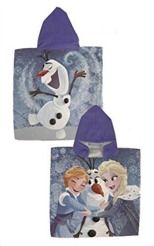 Toalla Frozen Poncho Frozen Disney Microfibra 50x100cm