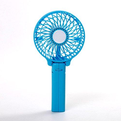WF Ventilatore Portatile Piccolo, Ventola Usb Portatile Ricaricabile Usb Portatile A Mute