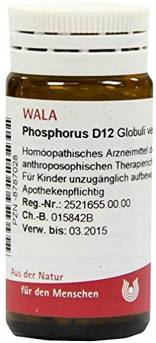 WALA Phosphorus D12, 20 g Globuli velati