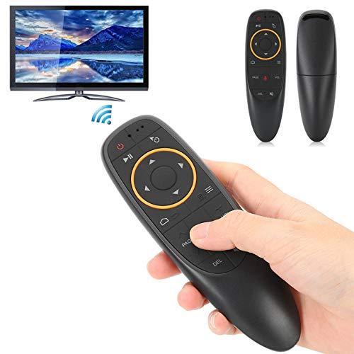 Uxsiya Air Mouse - Teclado para ordenador (2,4 g, giroscopio somatosensorial y voz)