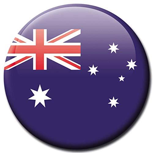 Kühlschrankmagnet Australien Flaggen Magnet Länder Reise Souvenir Flagge für Kühlschrank stark groß 50 mm