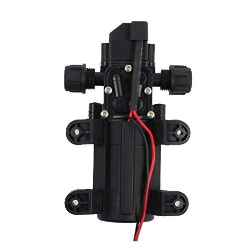 XIXI-Home Bomba de Agua de Alta presión de 12 V DC Interruptor en Forma for el Micro de diafragma automático 6L / min Fit for Marine Yachting Barco Caravana Vehículo