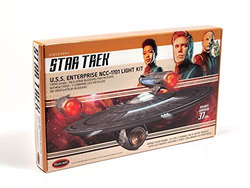 Polar Lights Star Trek Discovery U.S.S. Enterprise Kit de luz