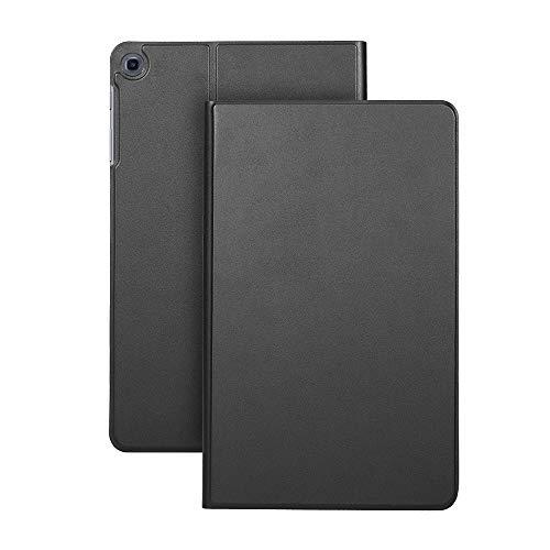 Fesjoy Carcasa de TPU trasera cubierta cubierta cubierta cubierta soporte soporte compatible con Samsung T510 / 515 negro