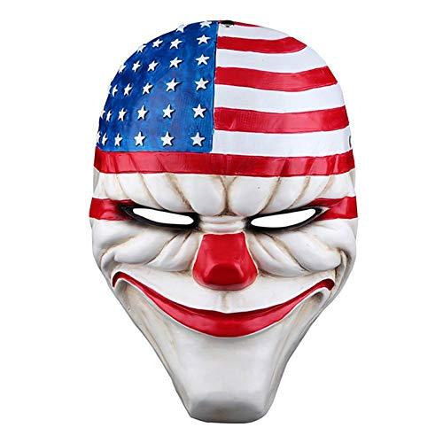RCFRGV Halloweenmasker Halloween-masker masker masker film karakter Horror polycarbonaat