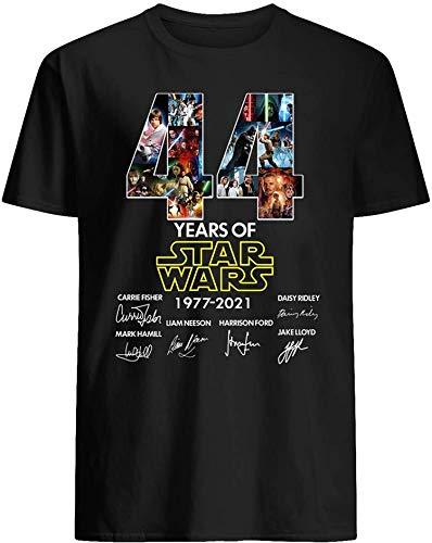 44 años de #Star Wars 1977-2021 elenco firmado #Yoda #Darth Vader Rey regalo para mujeres unisex