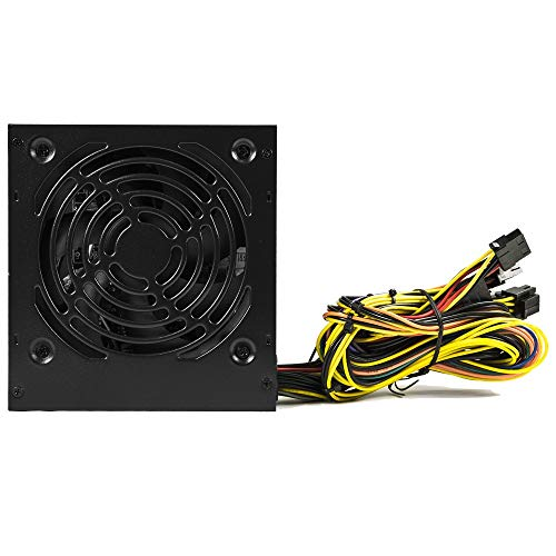 Tacens Anima APB550 - Fuente de alimentación para PC (550W, 80Plus Bronze, 12V, PFC activo, ventilador 12cm, 14 dB), negro